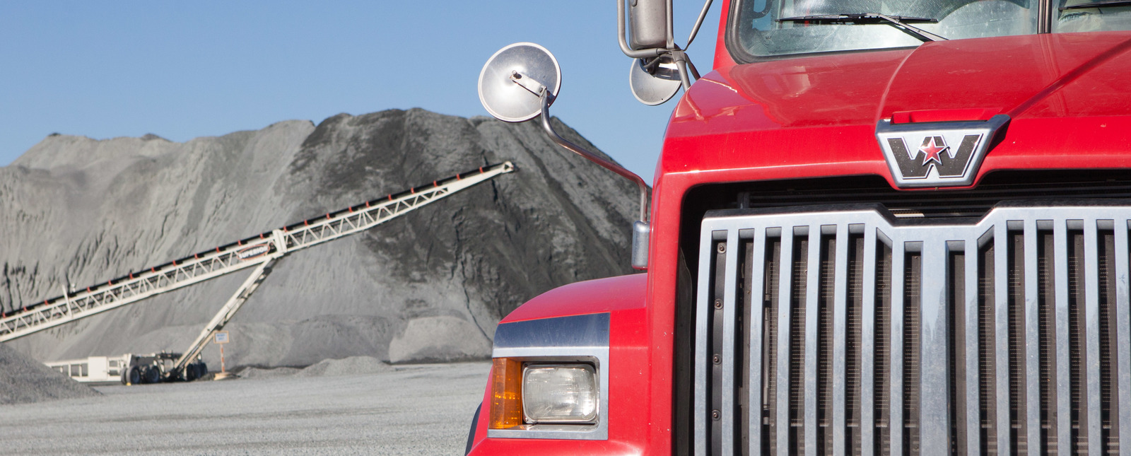 Gravel Delivery by Stout Trucking